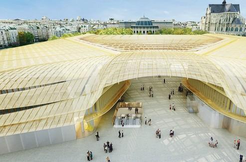Combien coûte le nouveau Forum des Halles ?