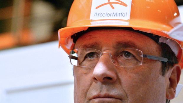 Le retour de François Hollande à Florange